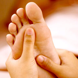 Reflexology for Relaxation